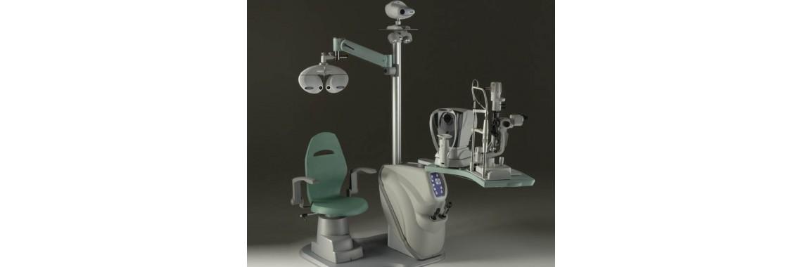 Рабочее место офтальмолога Meccanottica №10.09010/090